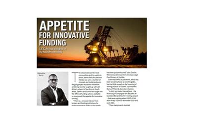 Amadou Barry on Mining Finance