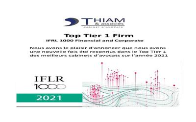 Top Tier 1 IFLR 1000 Ranking